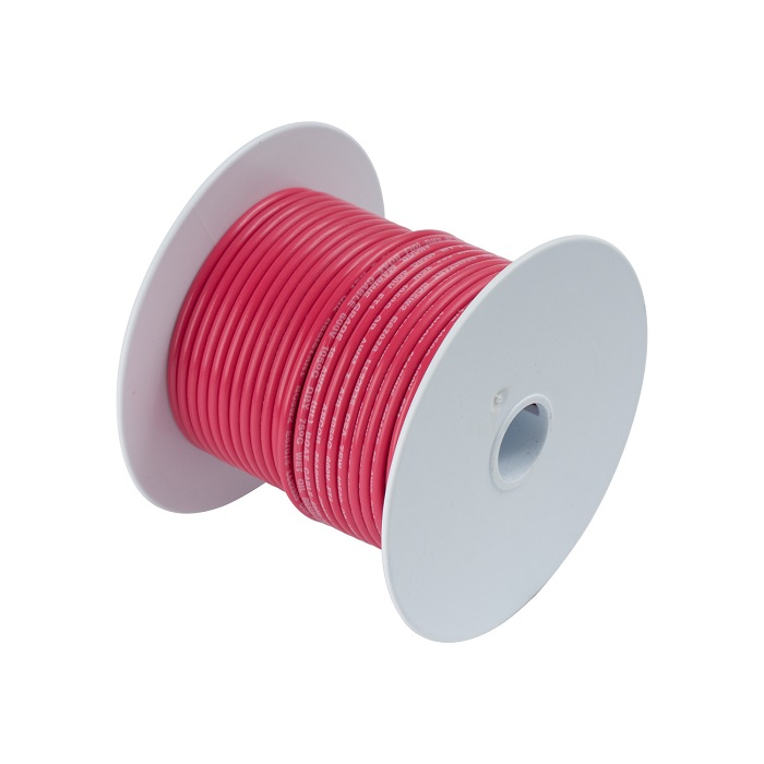 Ancor #8 Red 25' Spool Tinned Copper