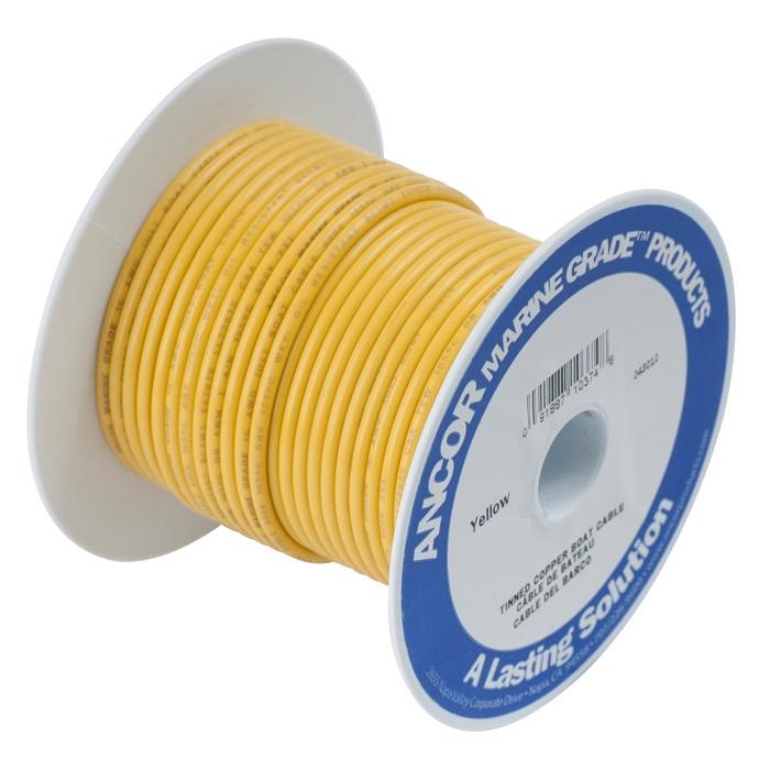 Ancor #8 Yellow 25' Spool Tinned Copper
