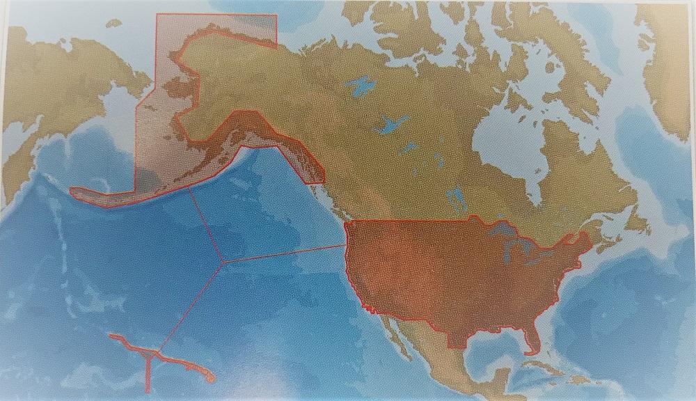 C-Map MSD-NA-Y070 Insight Pro US Inland Lakes and Coastal - # 960