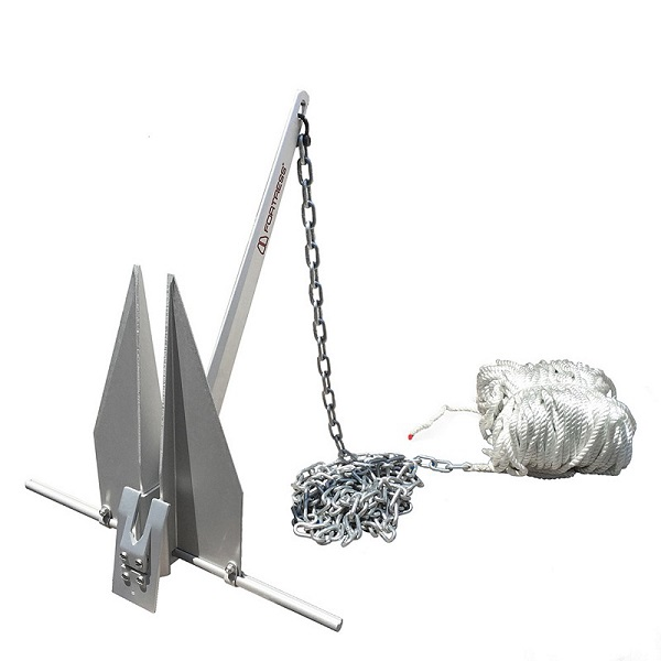 Fortress FX-7 Anchoring System 250' 3/8 Line, 15' 1/4 G30 - # FX-7-AS