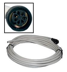 Furuno 000-154-028 7PIN Cable NMEA In 1RS232C/12V Out - # 000-154-028