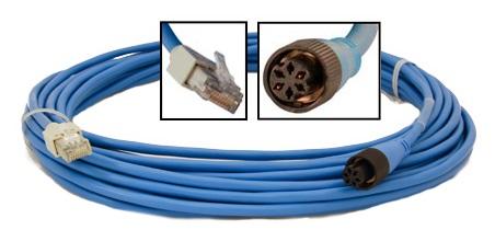 Furuno 000-159-705 5m Adaptor Cable RJ45 to 6-Pin