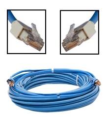 Furuno 001-167-900-10 LAN Cbl Assembly 10M RJ45-RJ45 4P - # 001-167-900-10