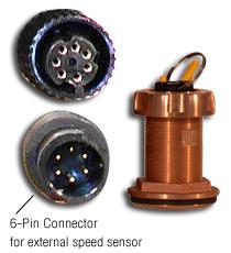 Furuno 235DT-MSE Depth/Temp Bronze TH Smart Sensor - # 235-DT-MSE