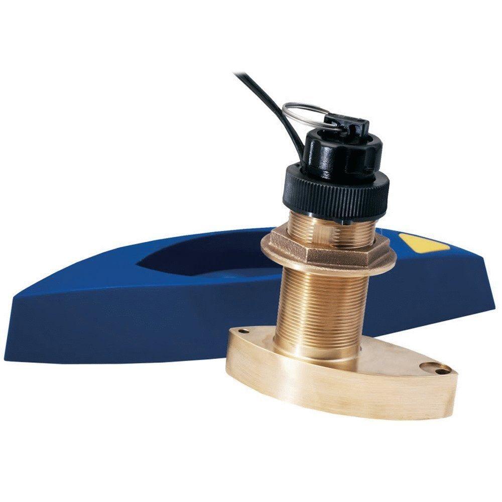 Furuno 525STID-MSD7 Long Stem Bronze Thru Hull Triducer - # 525STID-MSD7