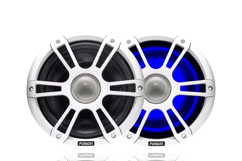 Fusion SG-CL65SPW 6.5 Speaker Signature Sport Grille White - # 010-01428-02