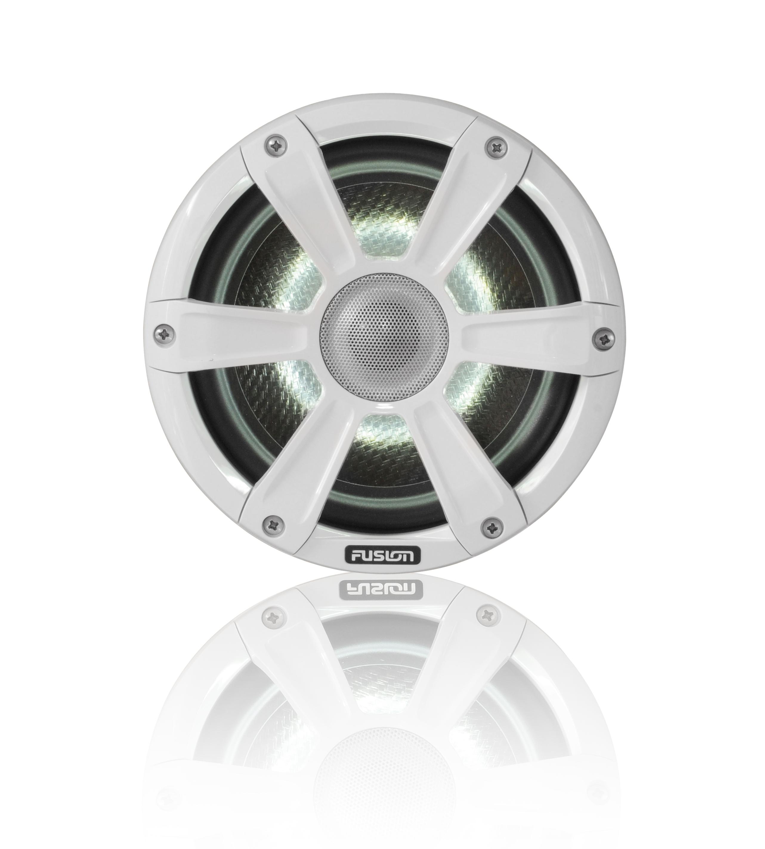 Fusion SG-CL77SPW 7.7 Speaker Signature Sport Grille White - # 010-01428-12