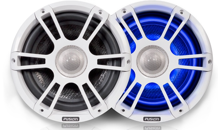 Fusion SG-FL88SPW 8.8 Speaker Signature Sport Grille White - # 010-01826-00