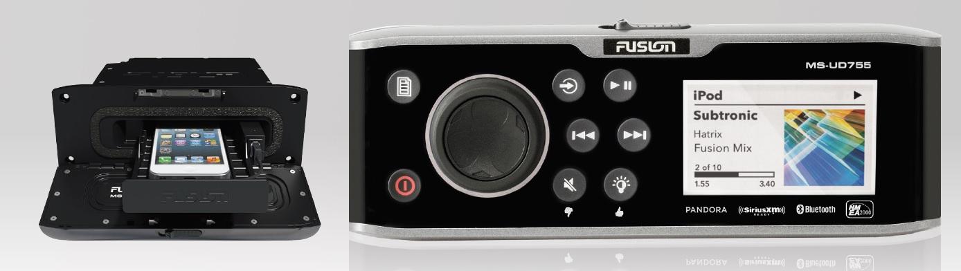 Fusion MS-UD755 AM/FM Sirius Ready Bluetooth - # 010-01882-00