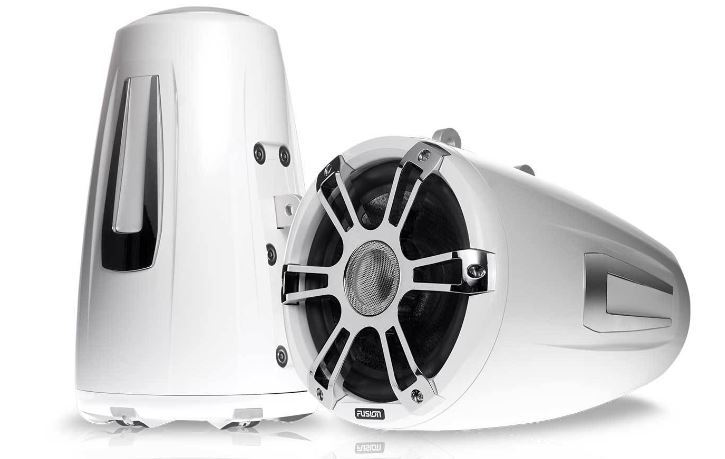 Fusion SG-FT88SPW 8.8 Tower Speaker White - # 010-02082-10