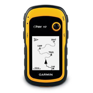 Garmin Etrex 10 Hand Held GPS  - # 010-00970-00