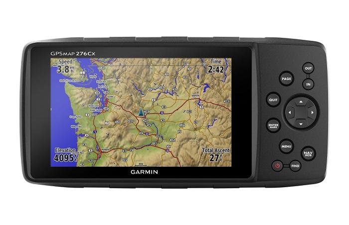Garmin GPSMAP276CX All Terrain GPS Navigator - # 010-01607-00