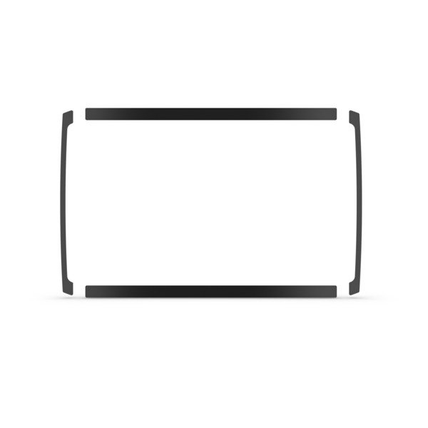 Garmin Flush Mount Kit For Echomap Plus 7Xsv/cv - # 010-12672-01