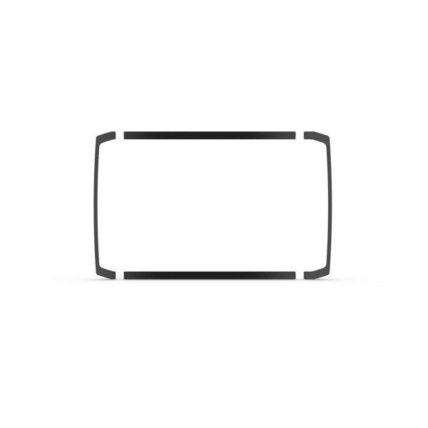 Garmin Flush Mount Kit For Echomap Plus 9Xsv - # 010-12673-01