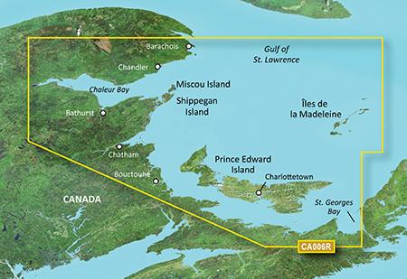 Garmin VCA006R G3 Vision P.E.I To Chaleur Bay - # 010-C0692-00