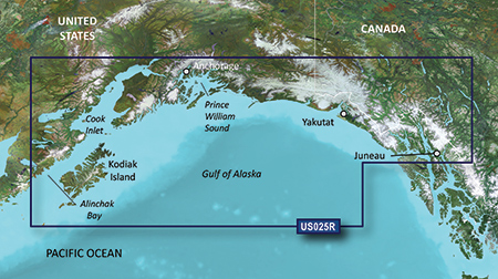 Garmin VUS025R G2 Vision Anchorage To Juneau
