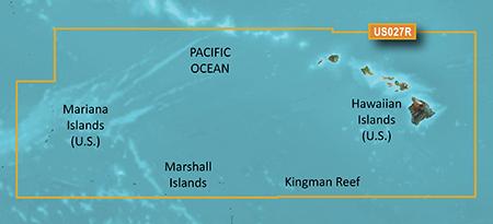 Garmin HXUS027R G2 Micro SD Hawaiin And Mariana Islands