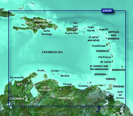 Garmin VUS030R G2 Vision Southeast Caribbean