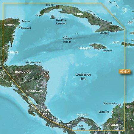 Garmin VUS031R G2 Vision Southwest Caribbean