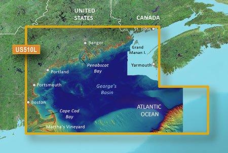 Garmin VUS510L G2 Vision St. John - Cape Cod