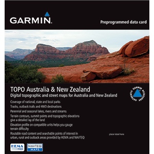 Garmin 010-C1049-00 Micro SD Austrailia & New Zealand Topo