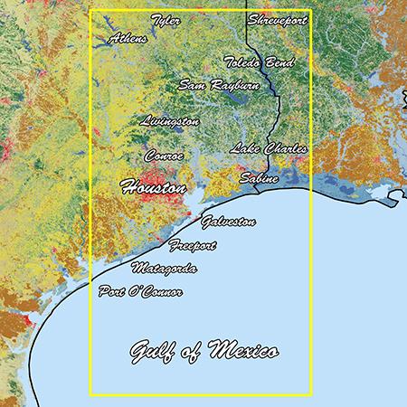 Garmin Texas East Standard Mapping Professional - # 010-C1182-00
