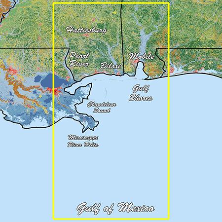 Garmin Mississippi Sound Standard Mapping Professional - # 010-C1185-00