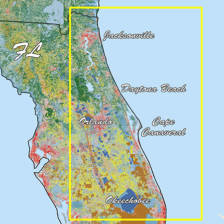 Garmin Florida East Pen Standard Mapping Classic - # 010-C1198-00