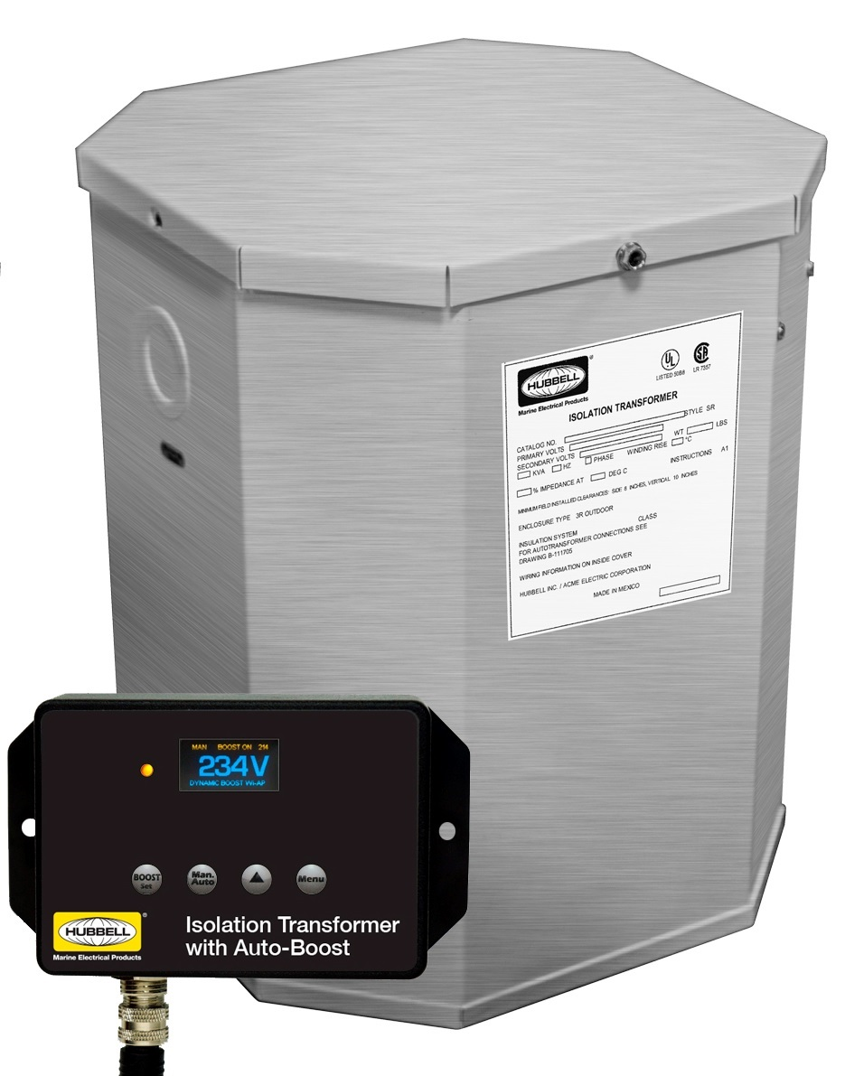 Hubbell Wiring Archives Consumer Marine Supply Catalog Hubbel Hbl100aitssb 25kva 60hz Isolation Transformer W Boost