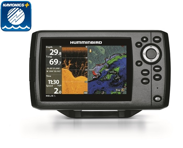 Humminbird HELIX5 Chirp DI G2 Navionics Plus Bundle - # 410220-1NAV