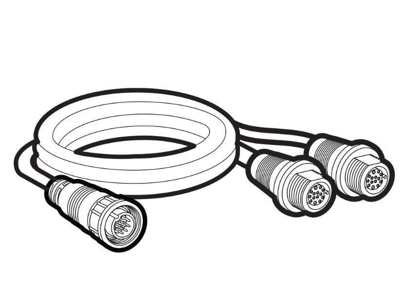 Humminbird 14-M-SIDB-Y Cable  - # 720103-1