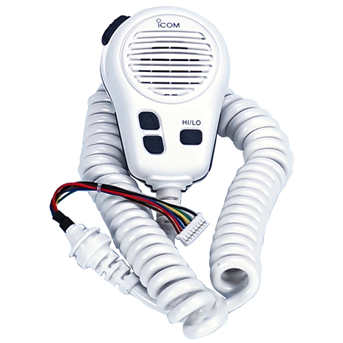 Icom HM196SW White Microphone Replacement For M424 - # HM196SW