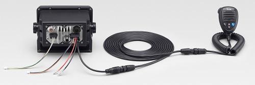 Icom M506-41 Black VHF Radio NMEA2000 AIS Rear Mic