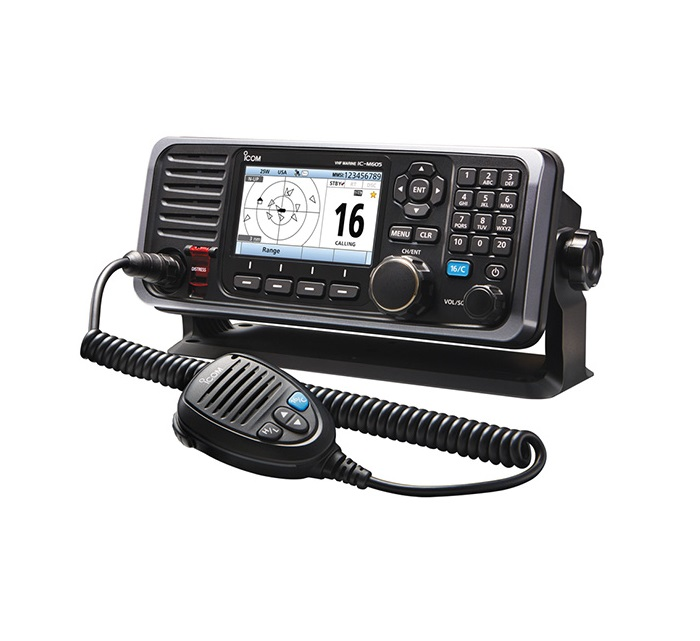 Icom M605 25W VHF Rear Mic Connector