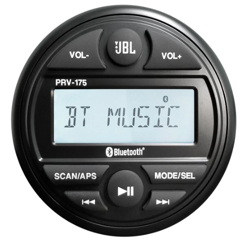 JBL PRV175 Am/Fm/Bt 4X45 Watt Stereo/Bluetooth - # JBLPRV175