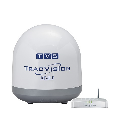 KVH Kvh Tracvision TV5 Satellite Linear Autoskew And GPS - 01-0364-34