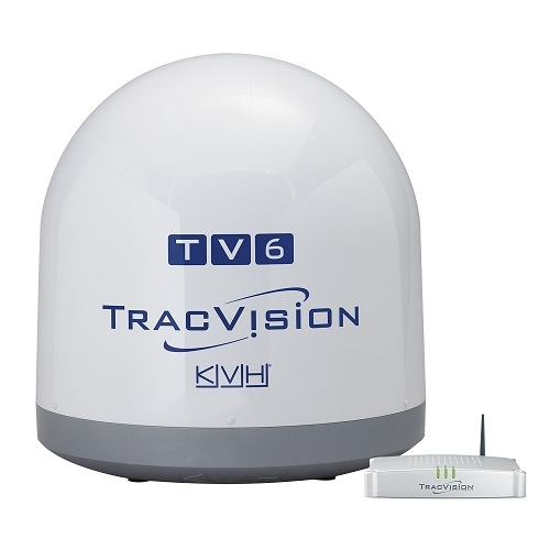 KVH Kvh Tracvision TV6 Satellite Linear Autoskew And GPS - 01-0369-02