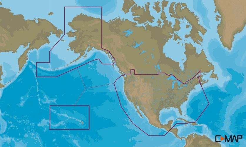 Lowrance C-Map Insight Pro US Inland and Coastal