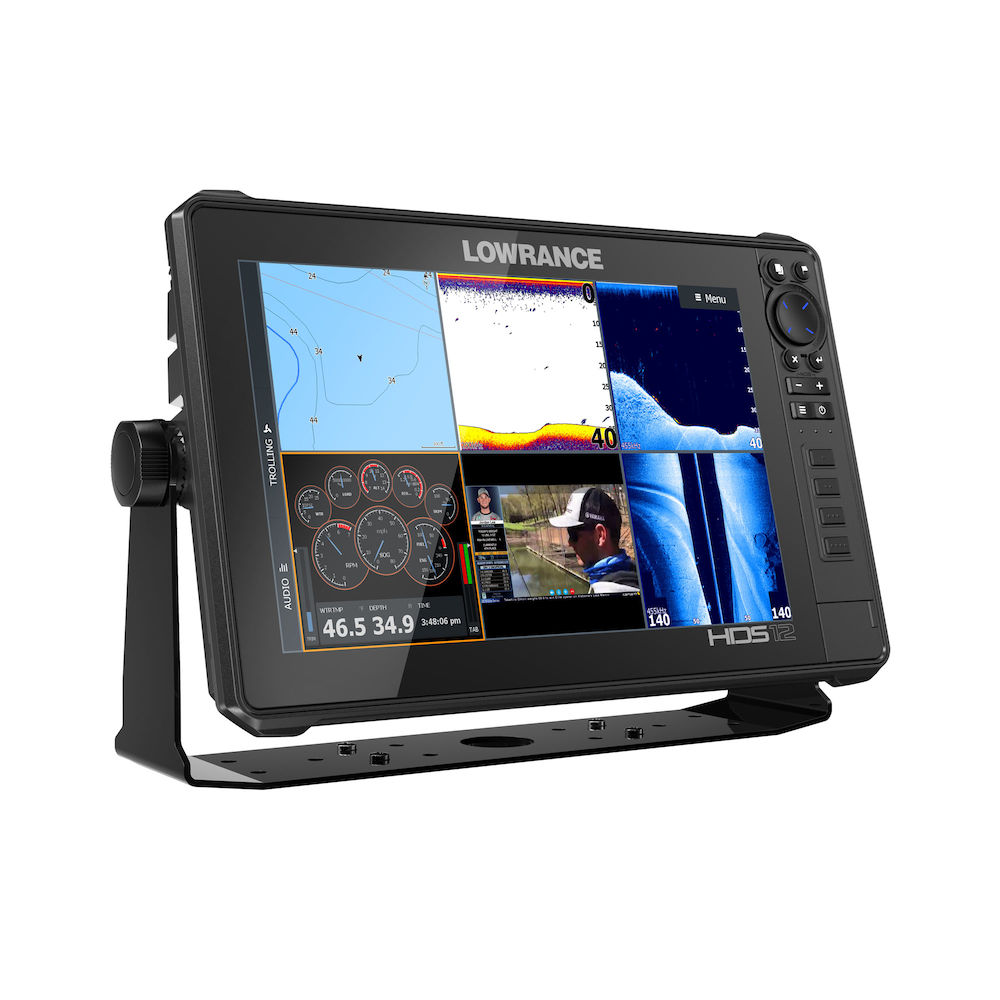 Lowrance HDS12 Live MFD With 3-In-1 Transducer - # 000-14428-001