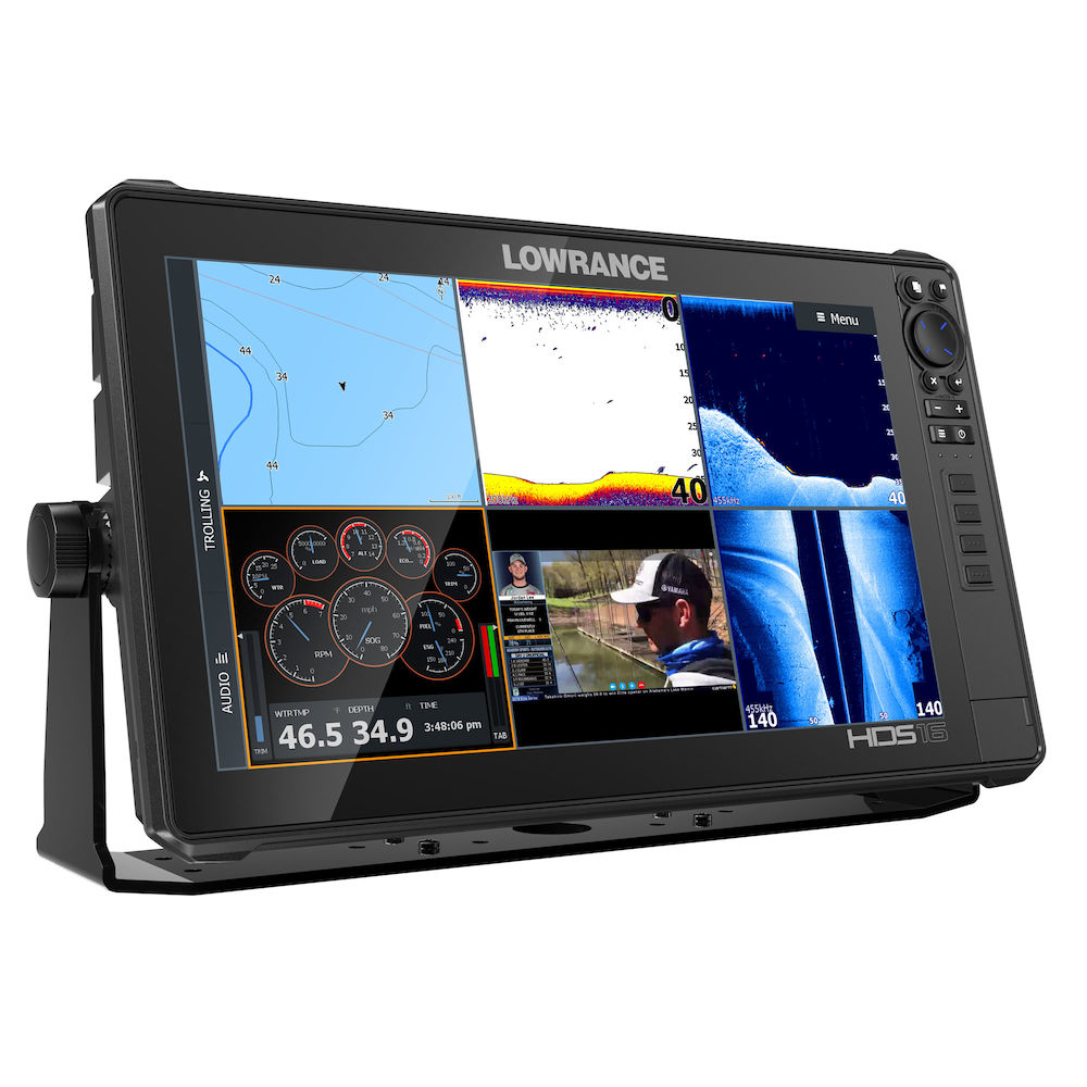 Lowrance HDS 16 Live MFD With 3-In-1 Transducer- 000-14434-001