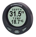Lowrance Lowrance LST-3800 Depth Gauge W/HST-WSU Transom Mount - 000-0047-94