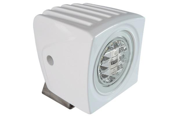 Lumitec Cayman LED Floodlight White Housing Super White - # 101259