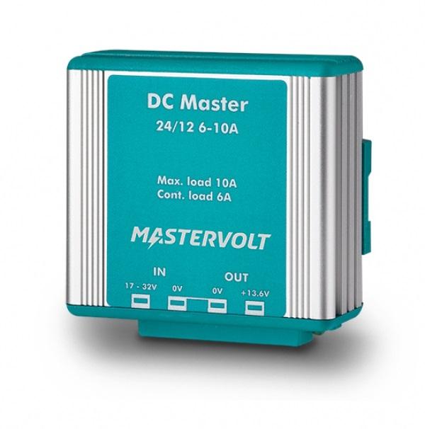 Mastervolt DC Master 24/12-6A 24VDC To 13.6 Vdc - 6A - # 81400200