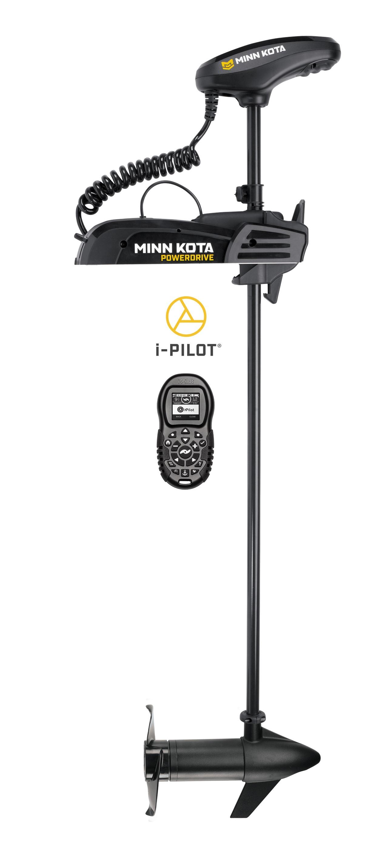 Minn Kota PowerDrive 55/US2 Trolling Motor w/i-Pilot Bluetoo 12V-55lb-54 1358749