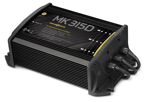Minn Kota MK315D Digital Charger 3 Bank 5 Amps - # 1823155