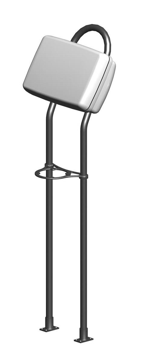 Navpod AG118 Angleguard 9.5 Wide 1.25 Tube Single Bend - # AG118