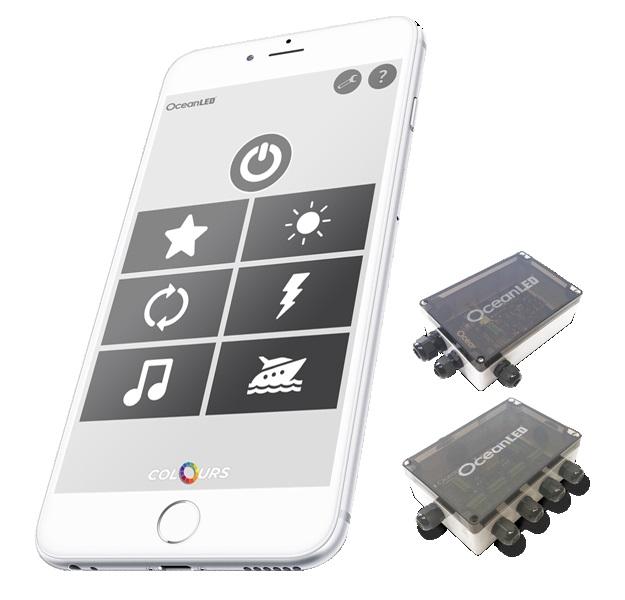 Oceanled Exteme DMX Contoller App Kit Supports 4 Lights
