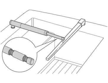 Raymarine 3 Pushrod Extensio  - # D005