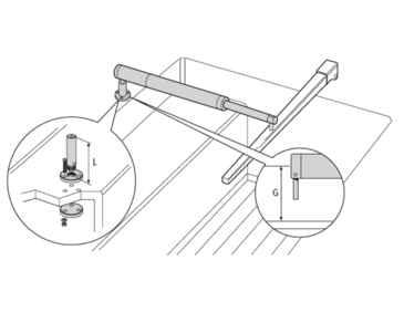 Raymarine 3 Pedastal Socket  - # D029