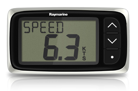 Raymarine I40 Speed System With THRU-HULL Transducer